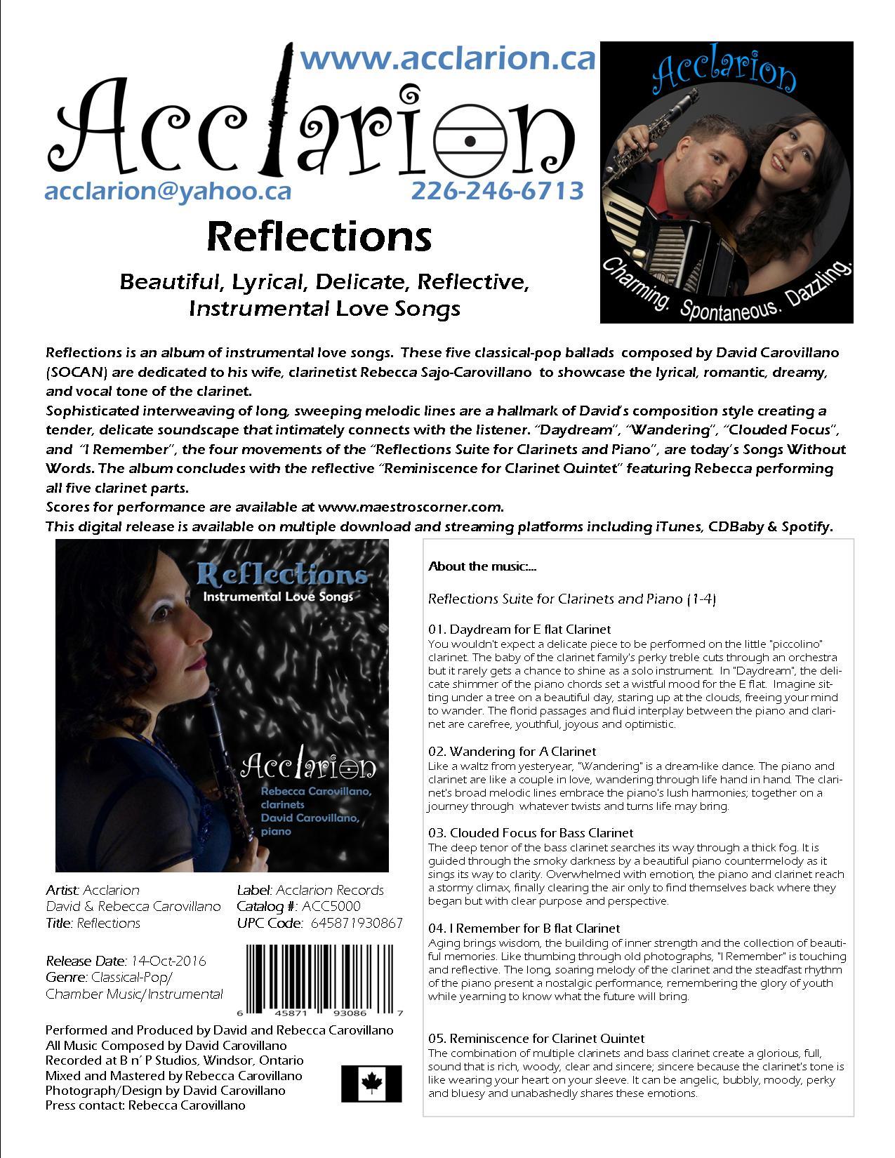 Reflections Album Info